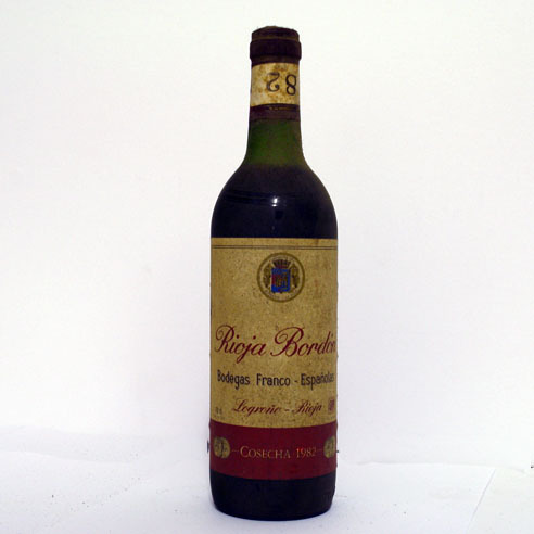 *RIOJA BORDON CRIANZA 82