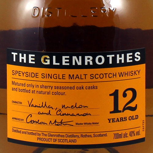 GLENROTHES MALTA 12 YEARS