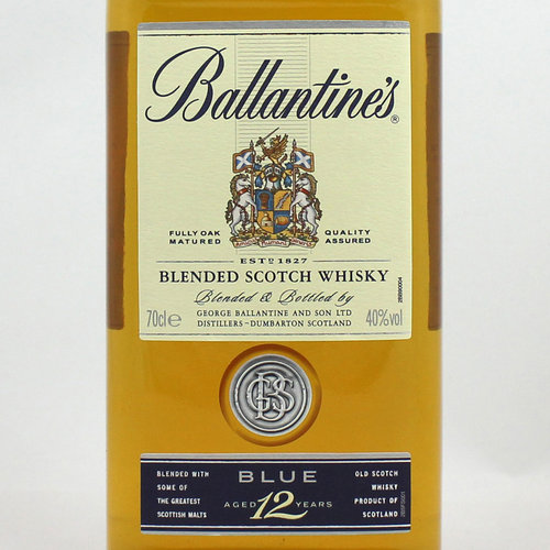 BALLANTINES GOLD SEAL 12 YEARS