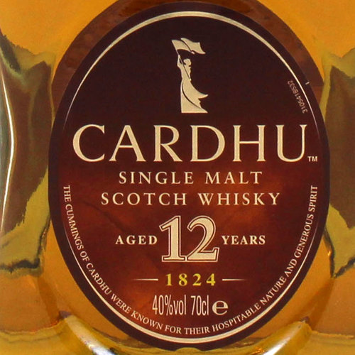 CARDHU 12 ANY YEARS