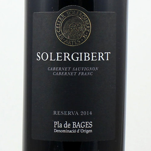 SOLERGIBERT RESERVA 2011 - PLA DE BAGES