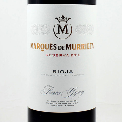MARQUES MURRIETA RESERVA 2014