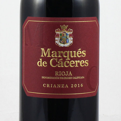 MARQUES CACERES CRIANZA 375 ml 2015