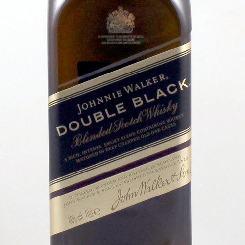 JOHNNIE WALKER - DOUBLE BLACK -
